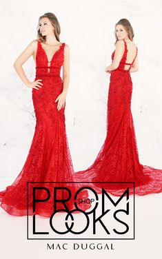 bd8e2dff4756d Mac Duggal designer dresses have turned heads for 30 years. Discover why  his prom dresses