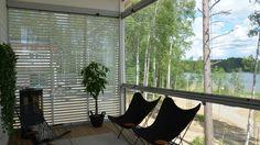 Balcony glazings and glass terraces Outdoor Furniture, Outdoor Decor, Hammock, Terrace, Home Decor, Balcony, Decoration Home, Patio, Room Decor