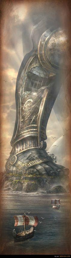 God of war THE TITANS