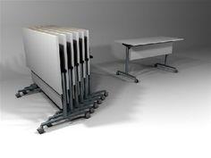 Mesas plegables serie C1 by IMAN Human Quality