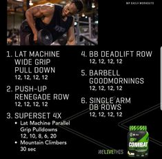 Abs And Cardio Workout, Full Body Workout Routine, Hitt Workout, At Home Workout Plan, Workout Challenge, Gym Workouts, Daily Workouts, Musclepharm Workouts, Muscle Fitness