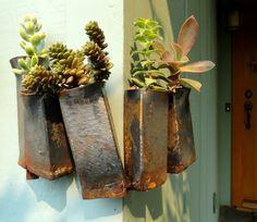 danger garden: Wrap around planter