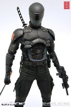 toyhaven: Review I: Hot Toys G.I. Joe Retaliation: 1/6th scale Snake Eyes 12-inch Collectible Figure