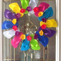 Fun Flip Flop Wreath
