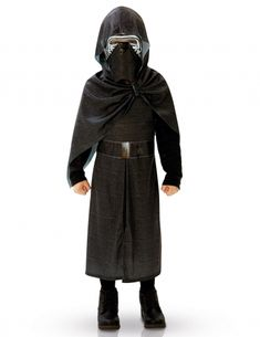 RUBIE/'S Officiel Enfant STAR WARS Kylo Ren classique costume noir 7//8 ans