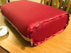 Comin' Home: How to Re-Cover Couch Cushions (includes the world's best sewing technique ever!)