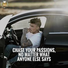 "833 Likes, 14 Comments - Your Success Is Our Goal (@risebeyond.fam) on Instagram: ""Always chase your passions no matter what anyone else says! -#risebeyond TAG SOMEONE!"""