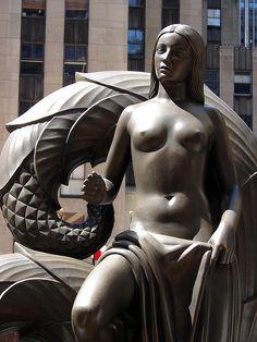 ❤  - Maiden Statue, Paul Manship