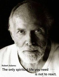 Don't fight the world. There's nothing to fight and there's absolutely nothing to fear. Be yourself. Be your REALSelf. Robert Adams