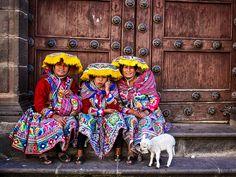 Traditional life in Cusco, Peru, South America