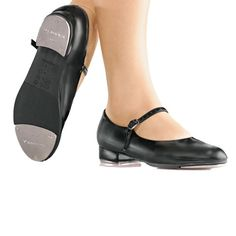 So Danca Buckle Strap Tap Shoe is perfect for a young or beginning dancer and is a great alternative to higher priced tap shoes. Leather Buckle, Leather Slip Ons, Leather And Lace, Kid Shoes, Ballet Shoes, Dance Shops, Black Taps, Ballet Kids, Dance Tights