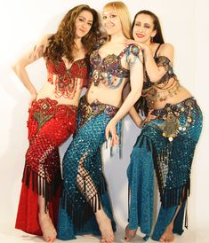 """Neon with Blanca & Sarah Skinner in Neon's """"Luscious - The Bellydance Workout"""""""