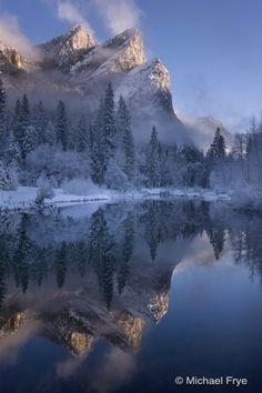 Three Brothers, Yosemite - stunning beauty.