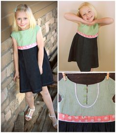 dress made from free pattern