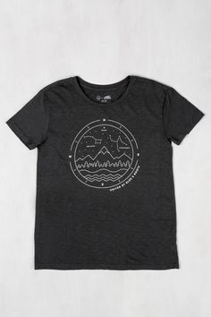 Womens UBB x Roots Northern Nights Tee | United By Blue | Made in USA | Organic
