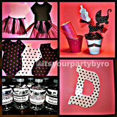 Pink/Brown polkadots themed baby shower! 10.15.14