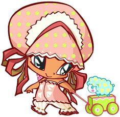 Piff- Pixie of sleeping Winx Club, Desenhos Love, Flora, Creatures, Fan Art, Cool Stuff, Pets, Drawings, Anime