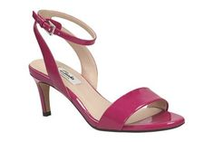 Clarks Amali Jewel - Fuchsiapinkes Leder - Elegante Damen Sandalen | Clarks