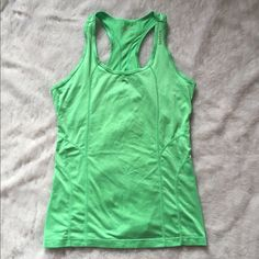 Reebok green tank  Reebok tank  Size S  Only worn once  Green Please ask for additional pictures, measurements, or ask questions before purchase. No trades or other apps. Ships next business day, unless noted in my closet  Reasonable offers accepted through the offer button Five star rating Bundle for discount Reebok Tops Tank Tops