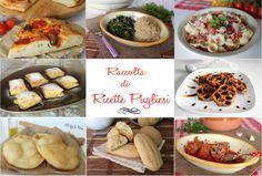 Raccolta di ricette pugliesi, primi, secondi, piatti unici, dolci e lievitati salati per un viaggio tra i piatti tradizionali di questa meravigliosa regione