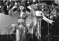 Barbara Stanwyck in Ball Of Fire 1941.