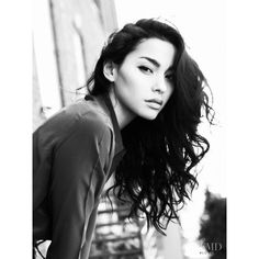 Adrianne Ho ❤ liked on Polyvore featuring people, hair, models, girls and pictures