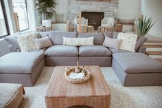 Living Room Seating, Cozy Living Rooms, Living Room Sofa, Home Living Room, Living Room Designs, Dining Room, Most Comfortable Couch, Comfortable Living Rooms, Family Room Sectional