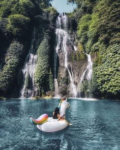 Nothing can beat the beauty of Banyumala Twin Waterfalls in Bali, Photo by: IG Places To Travel, Travel Destinations, Places To Visit, Bali Waterfalls, Thai Travel, Sup Yoga, Overseas Travel, Ubud, Travel Goals