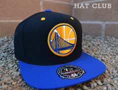 Mitchell & Ness Golden State Warriors Fitted Caps @ HAT CLUB
