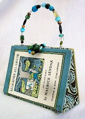 Sendak purse. LOVE.    http://kimwendlandt.blogspot.com/p/altered-book-purse-archive.html