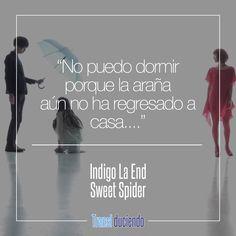 Canción traducida: #IndigoLaEnd - #SweetSpider | #JRock #YoruNiMahoWoKakerarete Encuentra la letra completa en http://transl-duciendo.blogspot.com.co/2016/12/indigo-la-end-sweet-spider-dulce-arana.html