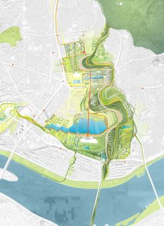 Weiss/Manfredi: Yongsan National Urban Park Master Plan