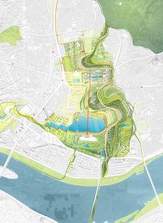Weiss/Manfredi: Yongsan National Urban Park Master Plan