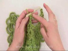 Decorative crochet edging