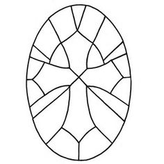 Image result for Free Printable Stained Glass Cross Patterns #StainedGlassChurch