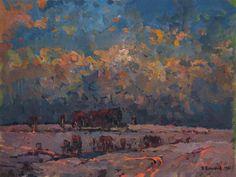 Winter by Vasiliy Belikov now featured on ArtDealer