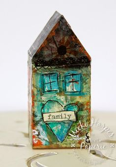 Eclectic Paperie: Little Whimsical Houses