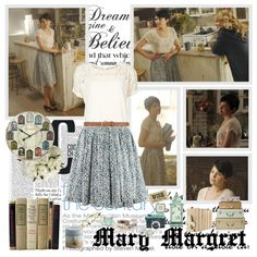 Mary Margaret - Of Once Upon A Time by opelazar on Polyvore featuring VILA, H