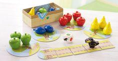 LE premier jeu de société à offrir à son enfant, avec des pièces en bois verni de très belles qualités.