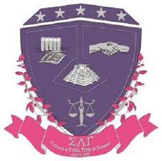 The Crest of Sigma Lambda Gamma.