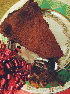 Christmas Pudding Chocolate Cheesecake — The Cake Hunter