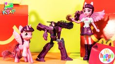McDonalds Transformers and My Little Pony Toys, and mobile game apps for...