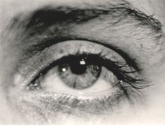 Man Ray : Lee Miller's eye Man Ray, Lee Miller's Eye (with poem inscribe...