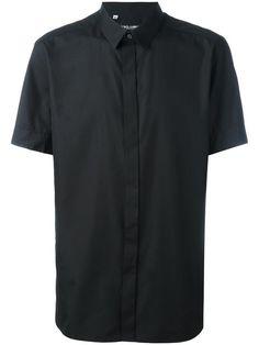 Купить Dolce & Gabbana рубашка с подкладкой в горох.