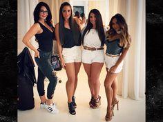 'Jersey Shore' Reunion Show Set for August Sammi Giancola, Nicole Polizzi, Nicole Snooki, Jenni Rivera, Two Daughters, Stella Mccartney Elyse, Mtv, Boho Shorts, Short Dresses