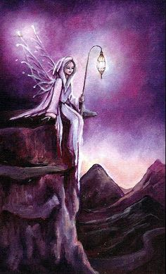 The Hermit - Crystal Visions Tarot