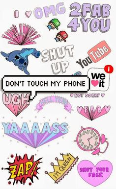 Wallpaper - Don't touch my phone