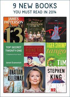 2014 Book Release Reading List! #booklove #read