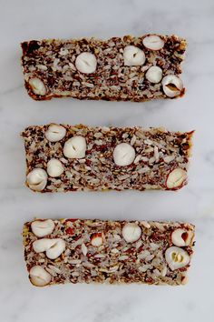 High protein quinoa bread from The Theory NYC Healthy Bread Recipes, Raw Vegan Recipes, Vegan Gluten Free, Whole Food Recipes, Vegetarian Recipes, Cooking Recipes, Cocina Natural, Vegan Bread, Bread Baking