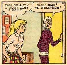 comics 1965 archie comics betty betty and veronica silver age miss grundy Archie Comics Betty, Archie And Betty, Roy Lichtenstein, Comics Girls, A Comics, Comic Books Art, Comic Art, Retro, Vintage Pop Art